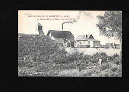 C.P.A. DE MINES D OR A LA BESSETTE 63 - France