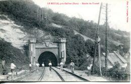 N°72477 -cpa Environs Gaillon -Le Roule -entrée Du Tunnel- - Ouvrages D'Art