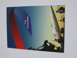 Carte Postal CONCORDE - AVION CONCORDE  **** EN ACHAT IMMEDIAT **** - 1946-....: Ere Moderne