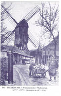 Stekene: Fonteinemolen - Molenstraat (2 Scans) - Stekene