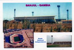 Carte De Stade De: Banjul   Gambie  Stade National Indépendance     #  ST. 099 - Voetbal