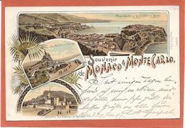 Souvenir De MONACO & MONTE CARLO 1897 - Monte-Carlo