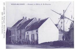 Asse: Walfergem - Molen De Bisschop (2 Scans) - Asse