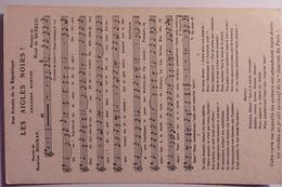 """Chant """" Les Aigles Noirs """" Au Profit De La Journée Du Poilu - 1er Novembre 1915 - Guerra 1914-18"""