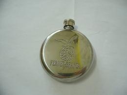 FIASCHETTA COMMEMORATIVA IN METALLO  FERNET BRANCA MILANO ANNI '60 VINTAGE - Alcolici