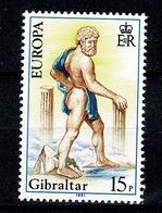Gibraltar 1981 EUROPA Yv 418**,   Mi 416** MNH - Gibraltar
