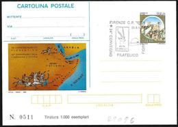 Italia/Italy/Italie: Intero, Stationery, Entier, Mappa, Map, Carte - Geografia