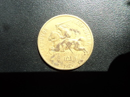 LITHUANIE : 20 CENTU  1925    KM 74    TB+/TTB * - Lituania