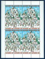 San Marino 1997 Sestriere Minifoglio Da 4 Sass.1541/44 **/MNH VF - Blocs-feuillets