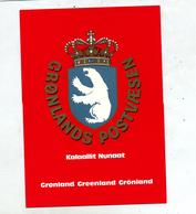 Carte Armoirie Kalaallit Ours Blanc - Greenland