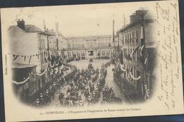 62-676 France 54 Compiegne Emperur Et Imperatrice De Russie Sortant Du Chateau Sent 1903 - Francia