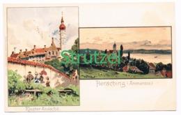 499 Otto Strützel Hersching Andechs Künstlerkarte - Other Illustrators