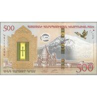 TWN - ARMENIA 60 - 500 Dram 2017 Hybrid - Noah's Ark UNC - Armenien