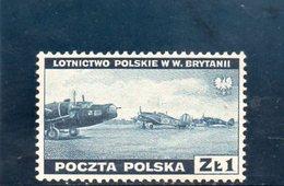 POLOGNE 1941 ** - Gouvernement De Londres (exil)