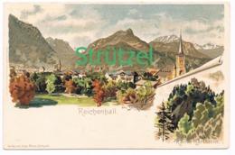 503 Otto Strützel Reichenhall  Karlstein Künstlerkarte - Other Illustrators