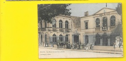 BLAYE Colorisée La Mairie Le 14 Juillet (Bergeon) Gironde (33) - Blaye