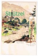 504 Otto Strützel Ramsau Berchtesgaden Bildstock Künstlerkarte - Other Illustrators