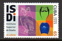 CUBA 4794 Institut Supérieur De Dessin, Hibou, Owl - Arts