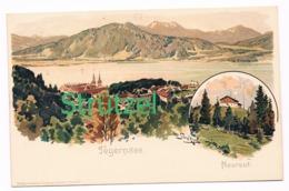 505 Otto Strützel Tegernsee Neureut Künstlerkarte - Other Illustrators