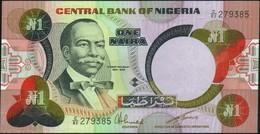 NIGERIA - 5 Naira Nd.(1984-) AU-UNC P.23 A - Nigeria