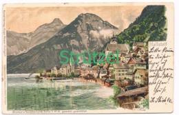 507 Otto Strützel Hallstadt Stadtbild Künstlerkarte - Other Illustrators