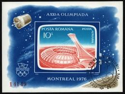 Rumänien 1976 - Mi-Nr. Block 136 Gest / Used - Olympia Montreal - 1948-.... Republiken