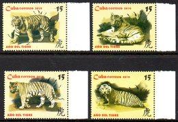 CUBA 4812/15 Zodiaque Tigre - Astrología