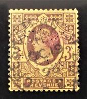 REINE VICTORIA 1887/900 - OBLITERE - YT 96 - MI 90a - TIMBRE PERFORE - 1840-1901 (Victoria)