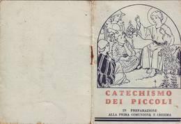 87)librettino Religioso Catechismo Dei Piccoli - Religion