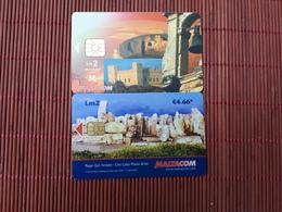 2 Phonecards Malta Used - Malte