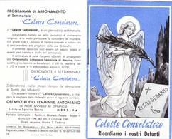 88)librettino Religioso Celeste Consolatore-ricordiamo I Nostri Defunti - Religion