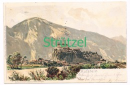 512 Otto Strützel Kufstein Burg Künstlerkarte - Other Illustrators