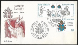 1979 - VATICANO - FDC + Y&T 666/668 [Jozef Wojtyla] + CITTA DEL VATICANO - FDC