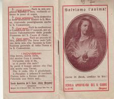 89)librettino Religioso Salviamo L'anima - Scuola Apostolica Del S.cuore Albino-bergamo - Religion