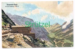 515 Otto Strützel Karwendelhaus Hütte Alpenverein Künstlerkarte - Other Illustrators