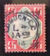 REINE VICTORIA 1887/900 - OBLITERE LONDON - YT 98 - MI 92 - 1840-1901 (Victoria)