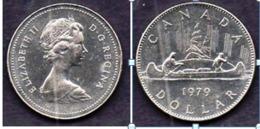 CANADA 1979 Un Dollar  One Dollar  Canoë Trappeur Indien - Canada