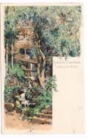 519 Otto Strützel Gieshübl Sauerbrunn Quelle Künstlerkarte - Other Illustrators