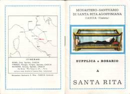 92)librettino Religioso Supplica E Rosario A Santa Rita - Religion