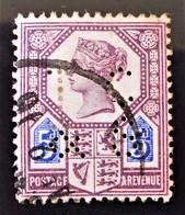 REINE VICTORIA 1887/900 - OBLITERE - YT 99 - MI 93 - TIMBRE PERFORE - 1840-1901 (Victoria)