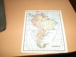Kopps Weltatlas  Sudamerika  Verlag Paul Klostermann Munchen - Geographical Maps