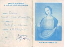 94)librettino Religioso Milizia Dell'immacolata - Religion