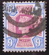 REINE VICTORIA 1887/900 - OBLITERE - YT 101 - MI 95 - Used Stamps
