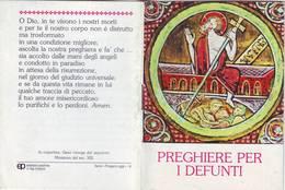 95)librettino Religioso Preghiere Per I Defunti - Religion