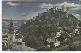 1918 Hohensalzburg V. Monschberg - Ed. Purger & Co Munchen Nr 10831 - Salzburg Stadt