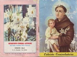 96)librettino Religioso Celeste Consolatore-orfanotrofio Femminile Antoniano - Religion
