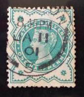 REINE VICTORIA 1887/900 - OBLITERE - YT 92 - Used Stamps