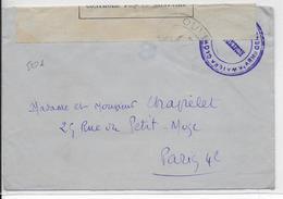 1914/18 - ARMEE POLONAISE En FRANCE - ENVELOPPE Avec CENSURE => PARIS - Marcophilie (Lettres)