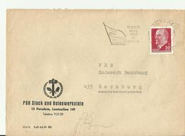 DDR 1967 CV - Storia Postale