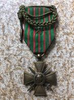 Croix De Guerre Avec Fourragère - 1914-18